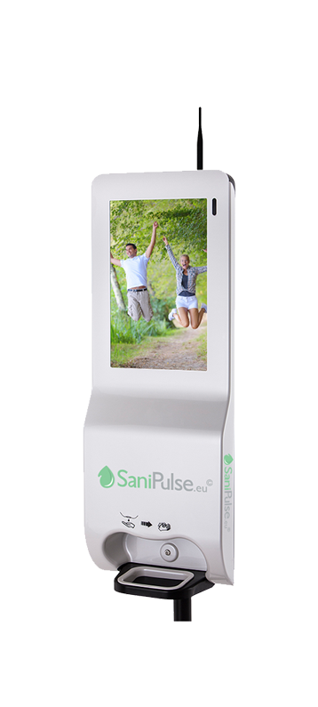 SaniPulse Wall Mounted Dispenser