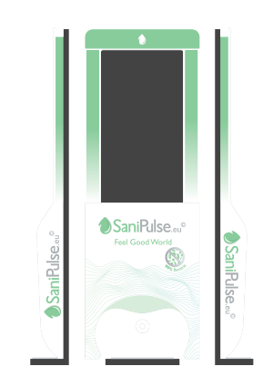 SaniPulse Dispensador Blanco